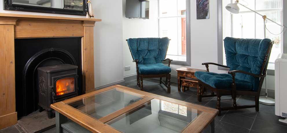 Jackie's House Living Room