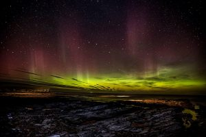 The Northerns Lights from Orkney